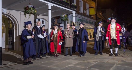 Tenterden Christmas Lights switch on event