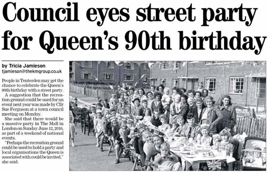 Queens 90th birthday