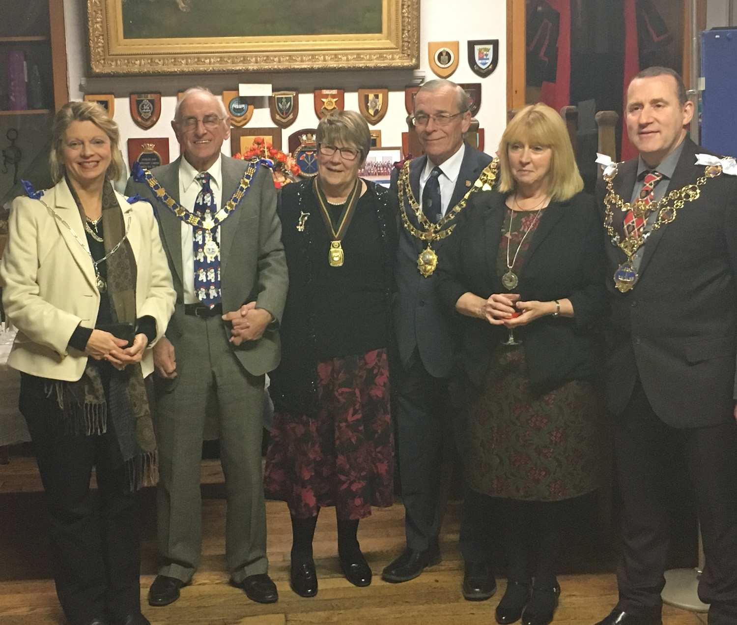 Lydd Town Council Christmas Reception, Guild Hall
